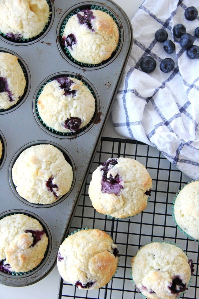 Blueberry Buttermilk Muffins
