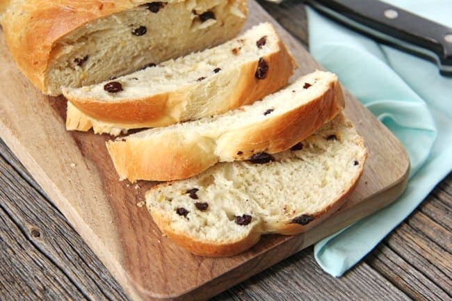 Easter Dinner Menu Idea: Easter Panettone Bread