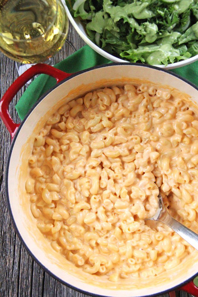 Stovetop Macaroni and Cheese Recipe