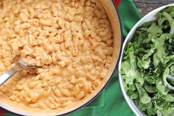 Three Cheese Stovetop Macaroni and Cheese Recipe