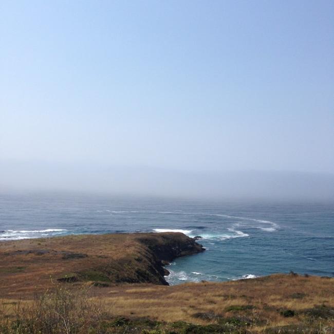 Driving along the Oregon Coast