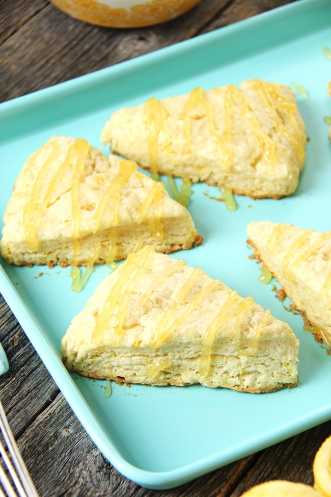 White Chocolate Scones With Meyer Lemon Curd Recipes ...