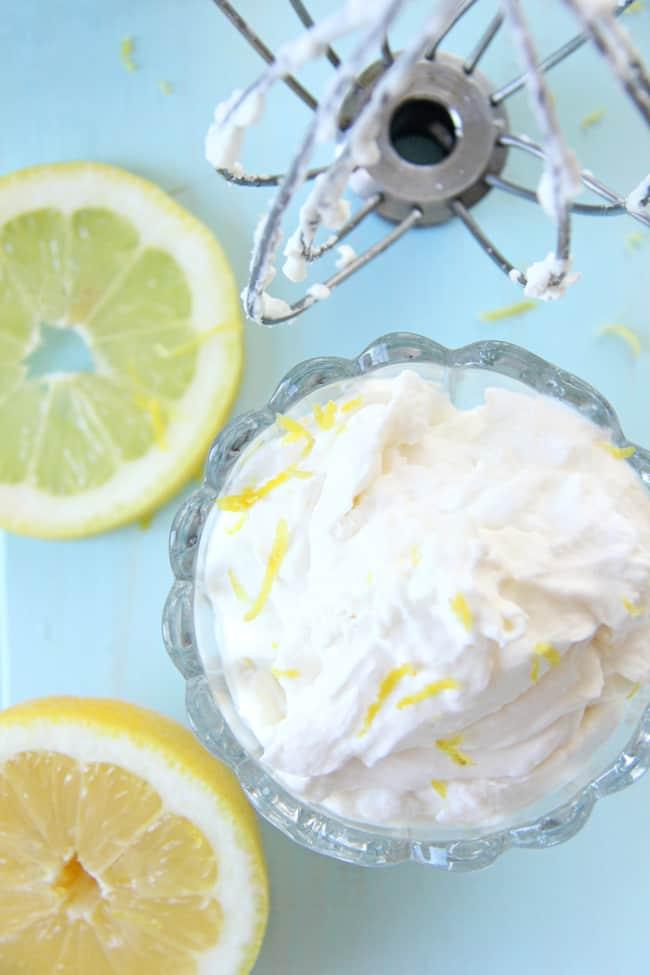 Lemon Whipped Cream
