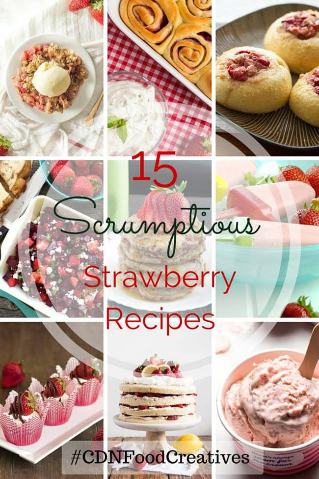 15 Strawberry Recipes