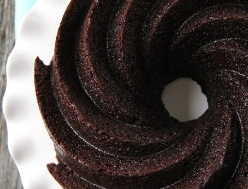 Chocolate Bundt Cake  (JRooney) Feature