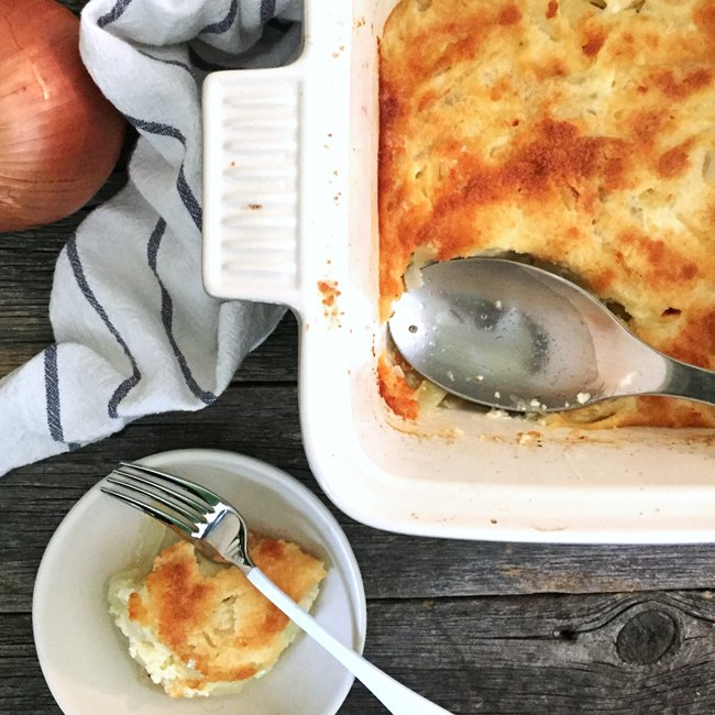 Festive Onion Casserole