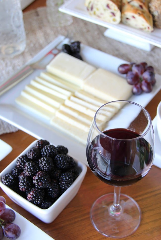 Fruit and Cheese Appetizer Idea
