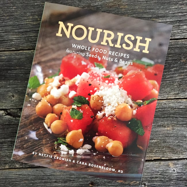 Nourish Cookbook by Nettie Cronish & Cara Rosenbloom, RD
