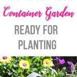 Tips to Get Your Container Garden Ready for Planting
