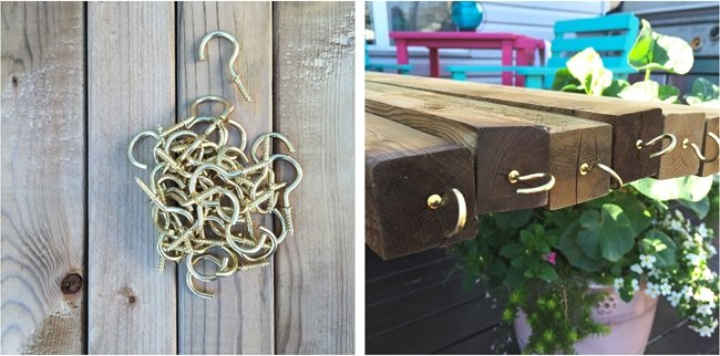 Easy DIY Patio Lights {A Pretty Life}7