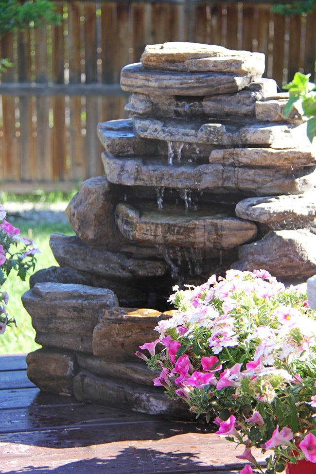 Create a Summer Flower Garden Patio!