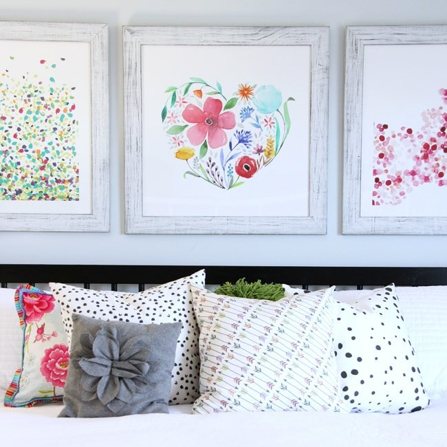 Summer Bedroom  {A Pretty Life} Feature