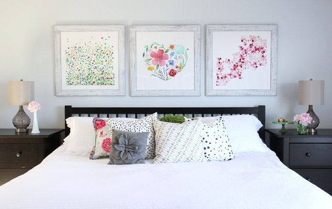 Summer Bedroom {A Pretty Life}5