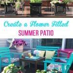 Create a Flower Filled Summer Patio