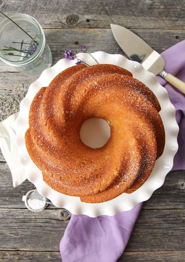 Lavender Honey Cake {A Pretty Life}6