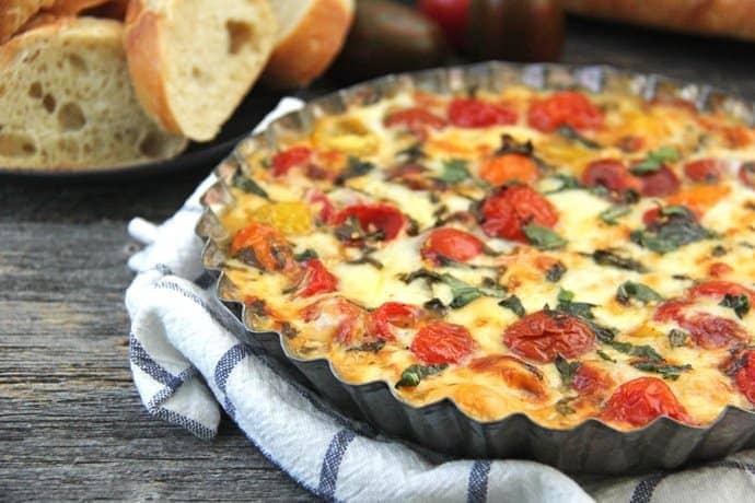 Roasted Tomato, Gouda Cheese & Basil Dip