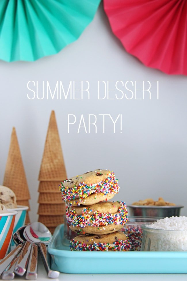 Summer Frozen Dessert Party