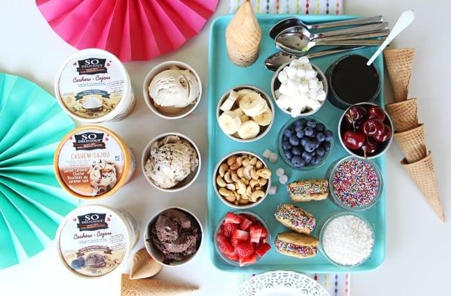 Summer Frozen Dessert Party {A Pretty Life}3