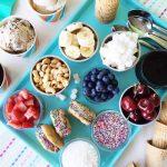 Summer Frozen Dessert Party  {A Pretty Life}Feature