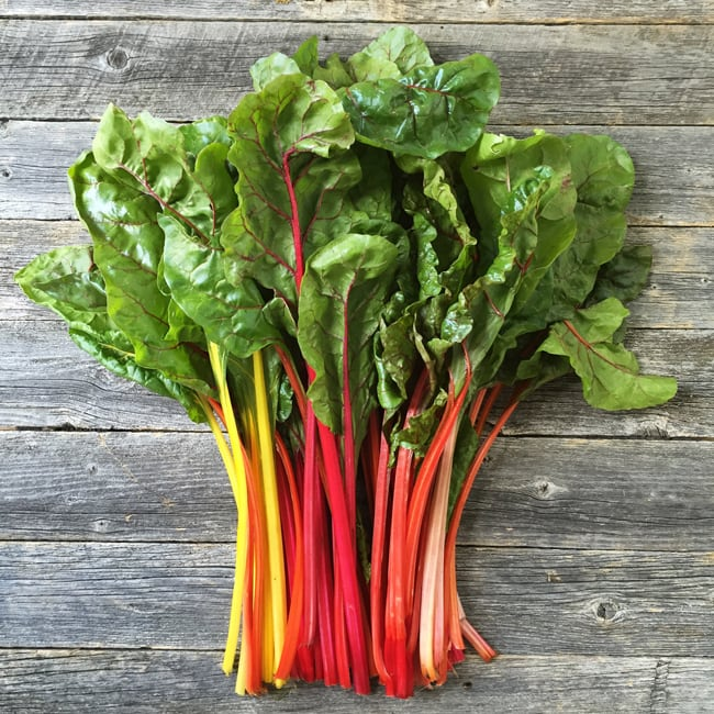 Swiss Chard {A Pretty Life}