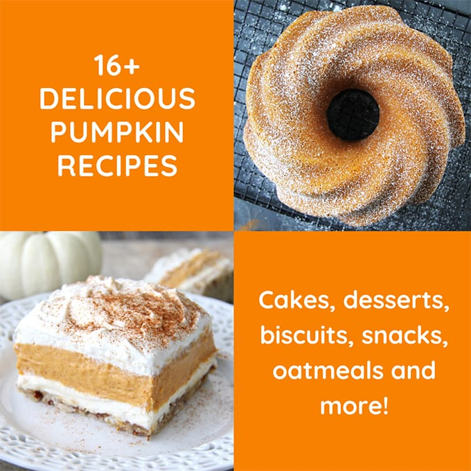 16+ Delicious Pumpkin Recipes