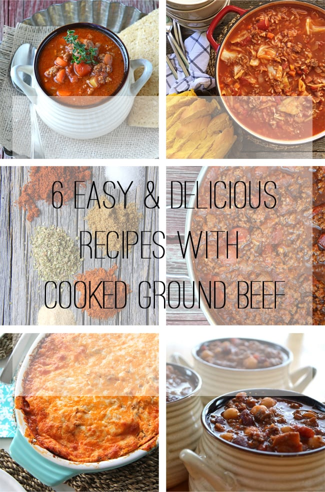 6 Easy and Delicious Recipes To Make With Ground Beef