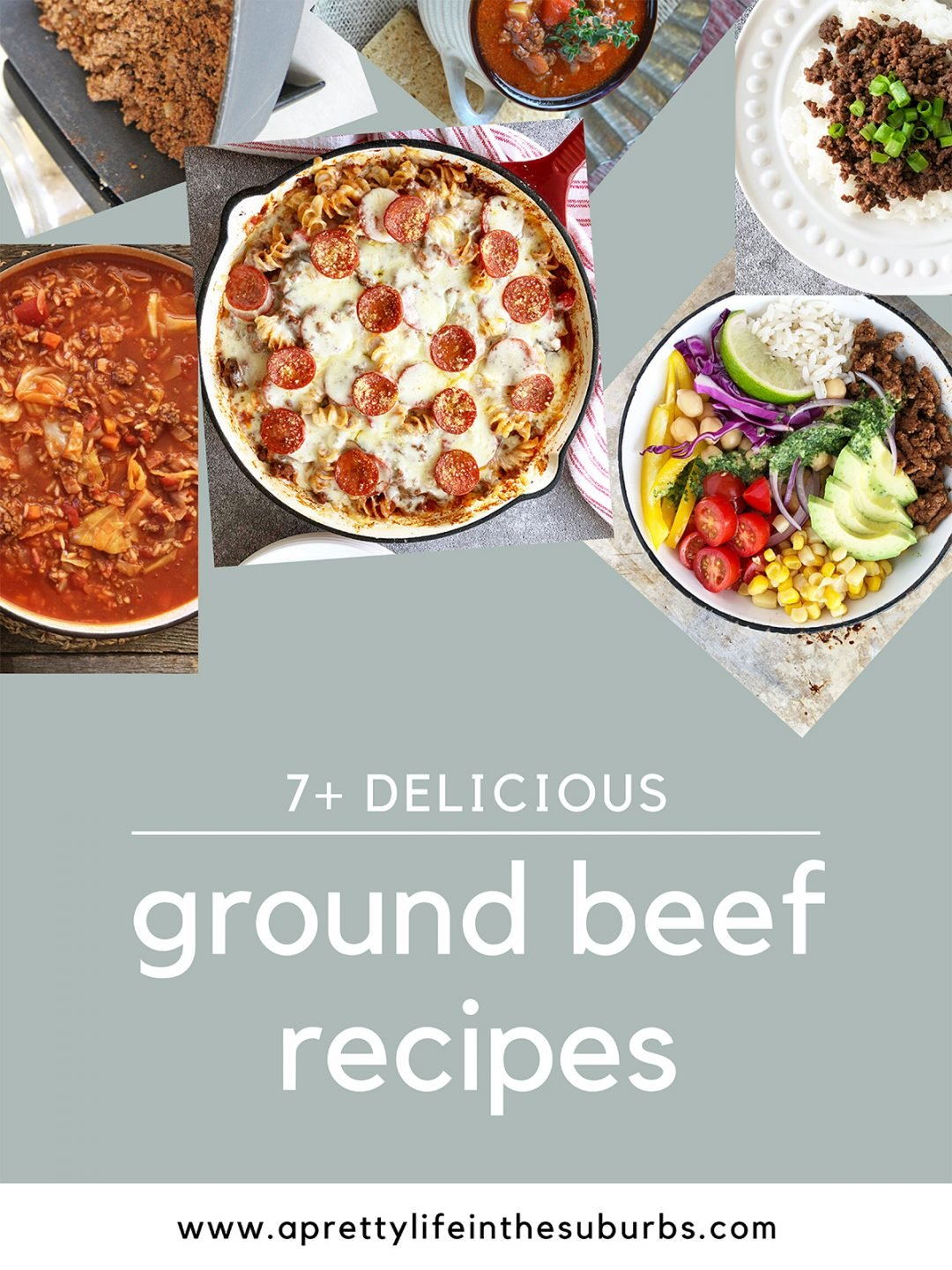 7+ Delicious Ground Beef Recipes