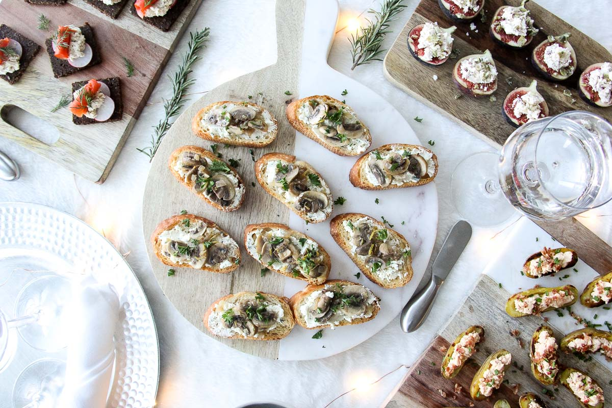 Boursin Cheese Appetizers