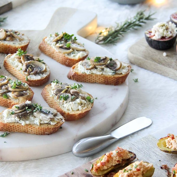 Easy & Elegant Holiday Appetizers