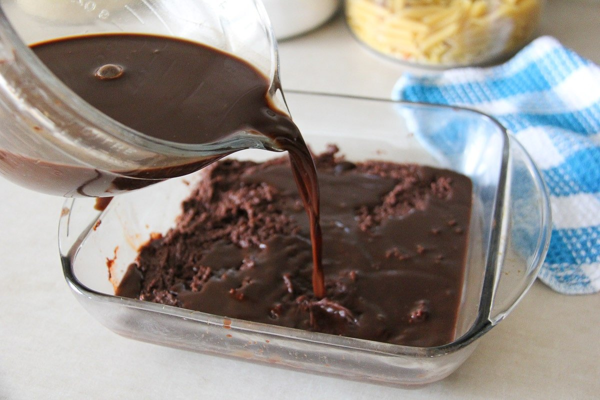 Deluxe Chocolate Pudding Cake