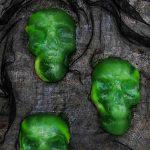 Halloween Jello Skulls