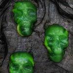 Halloween Jello Skulls Dessert