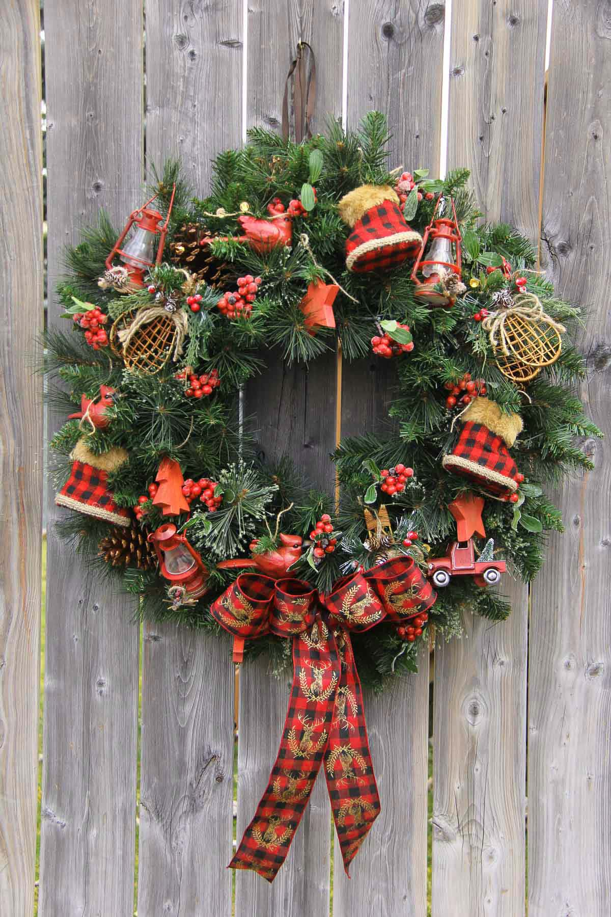 Comfort & Joy Christmas Wreath