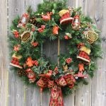 DIY Comfort and Joy Christmas Wreath