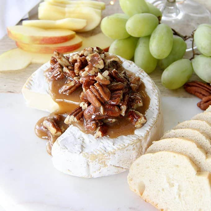 Honey Nut Brie Appetizer