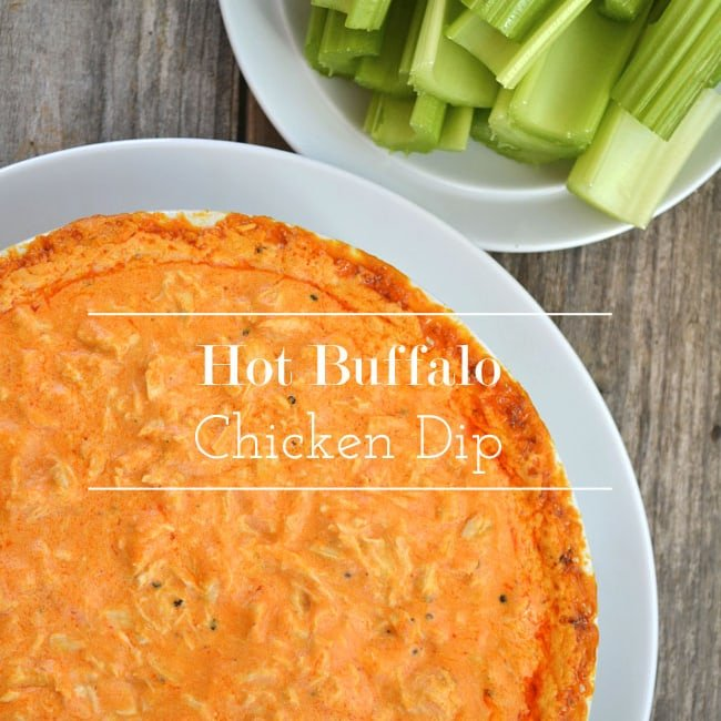 Hot Buffalo Chicken Dip