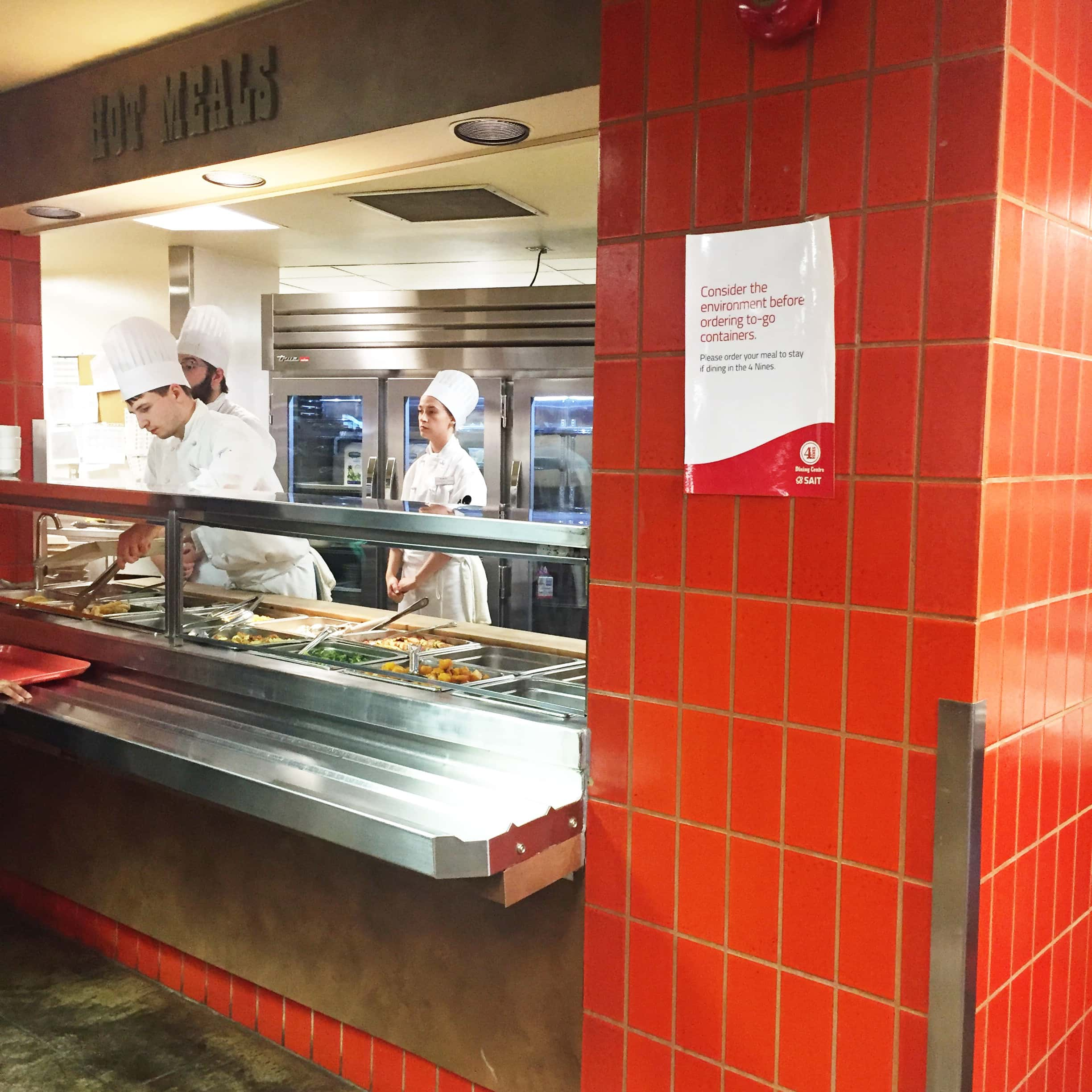 Local Eats: 4 Nines Dining Centre at SAIT