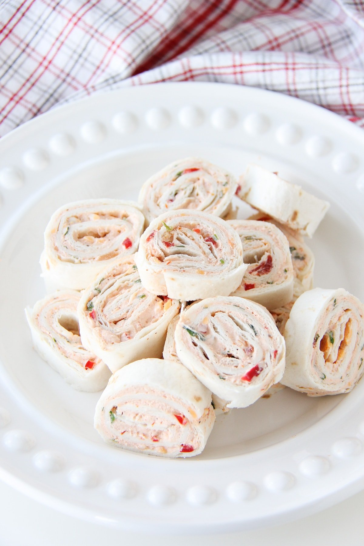 Easy Mexican Tortilla Pinwheels