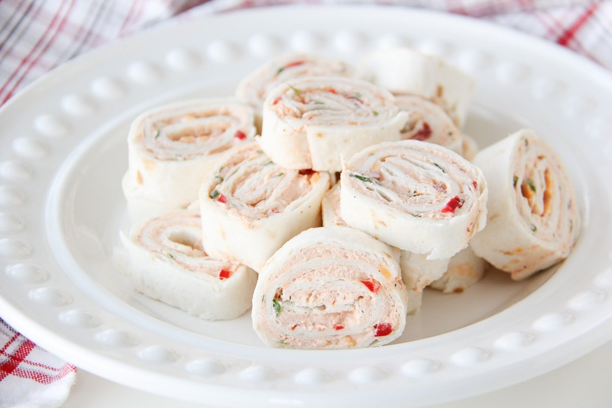 Easy Mexican Tortilla Pinwheels