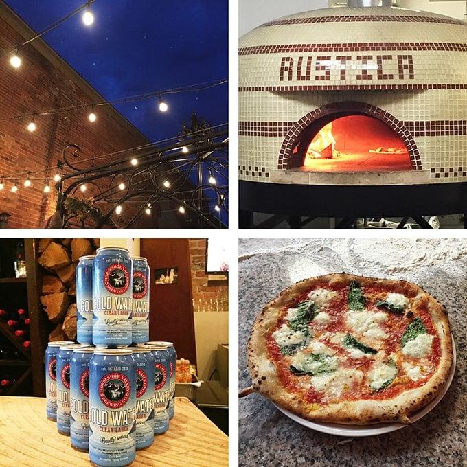 Rustica Pizza Vino in Orillia, Ontario