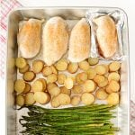 Simple Sheet Pan Chicken Dinner
