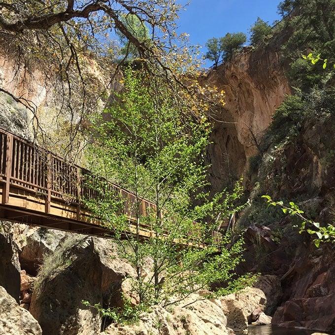 Tonto Natural Bridge