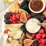 Easy Dessert Cheese Plate