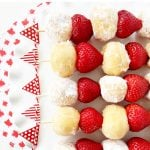 5 Minute Donut and Strawberry Dessert Kebabs