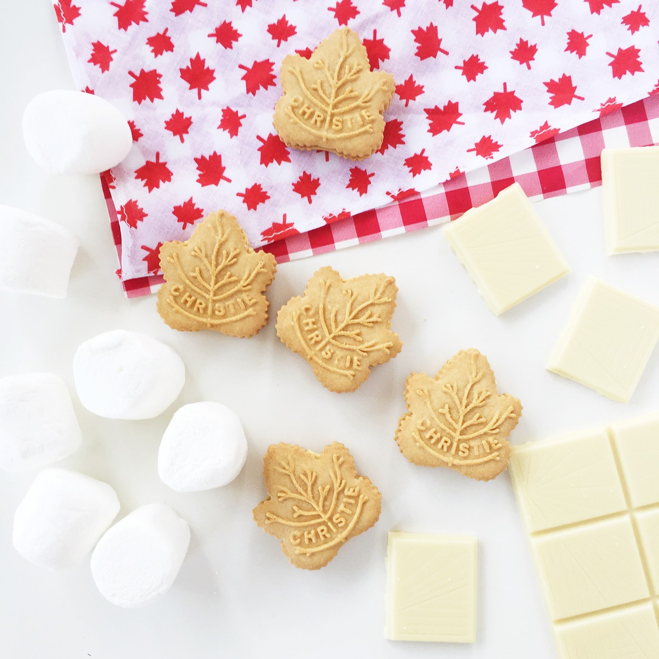 Maple Leaf Cookie S'mores