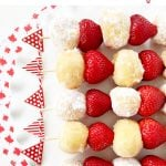 Timbit Dessert Kebabs for Canada Day