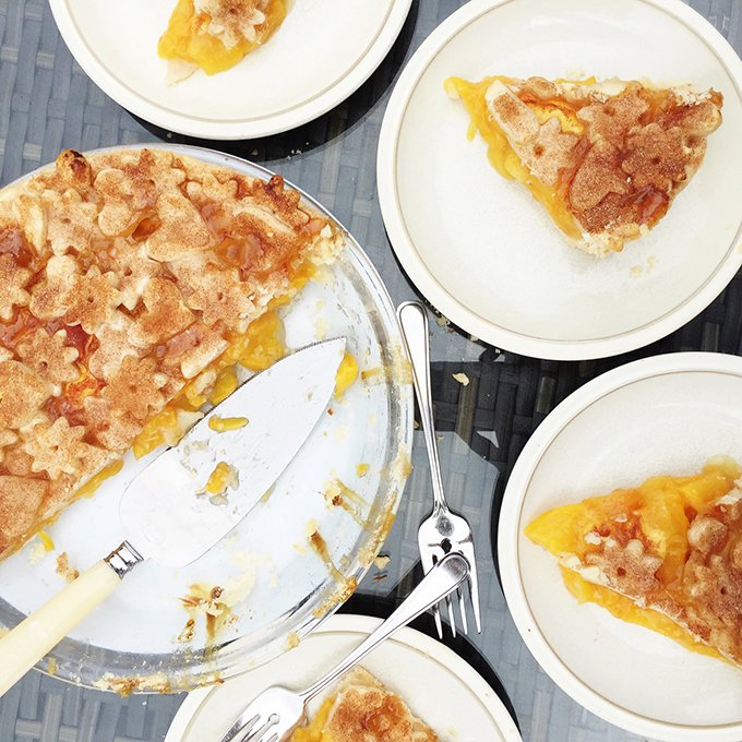 Summer Peach Pie