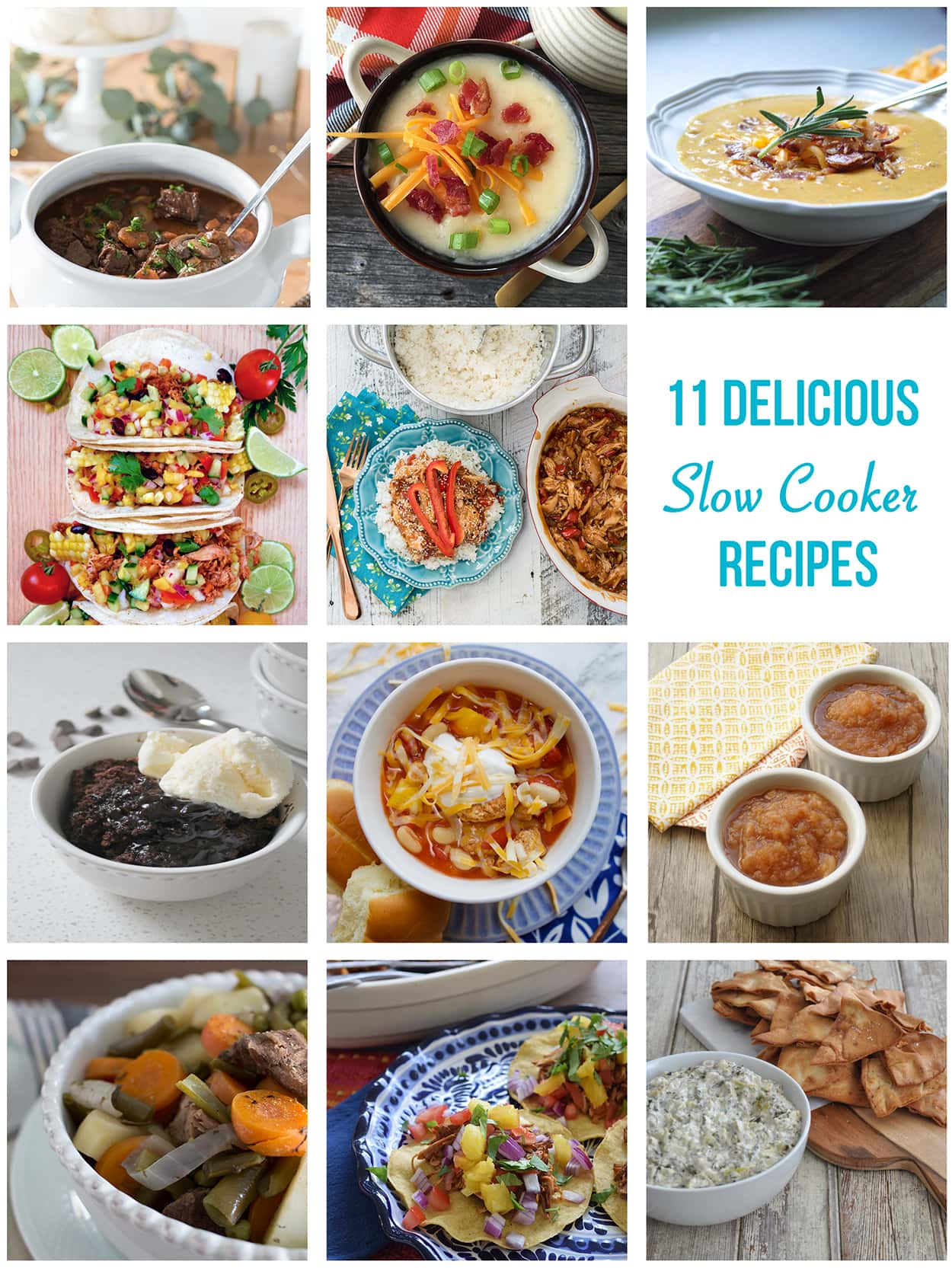 11 Slow Cooker Recipes to Make
