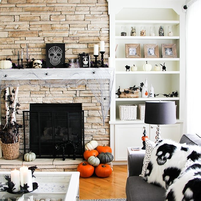 Halloween Decorating Ideas - A Pretty Life In The Suburbs
