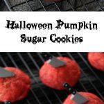 Halloween Pumpkin Sugar Cookie Recipe